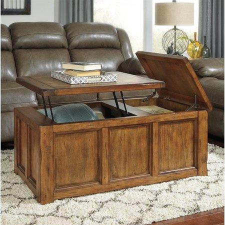 Ashley Furniture Tamonie Rectangular Lift Top Coffee Table In
