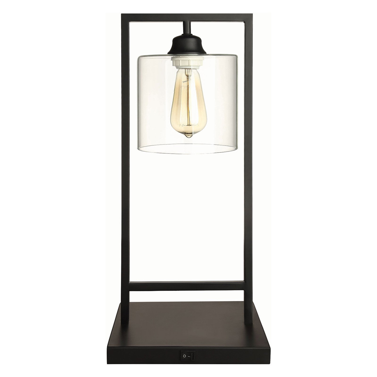 Coaster Company Table Lamp with Industrial Edison Light Design by Coaster Company