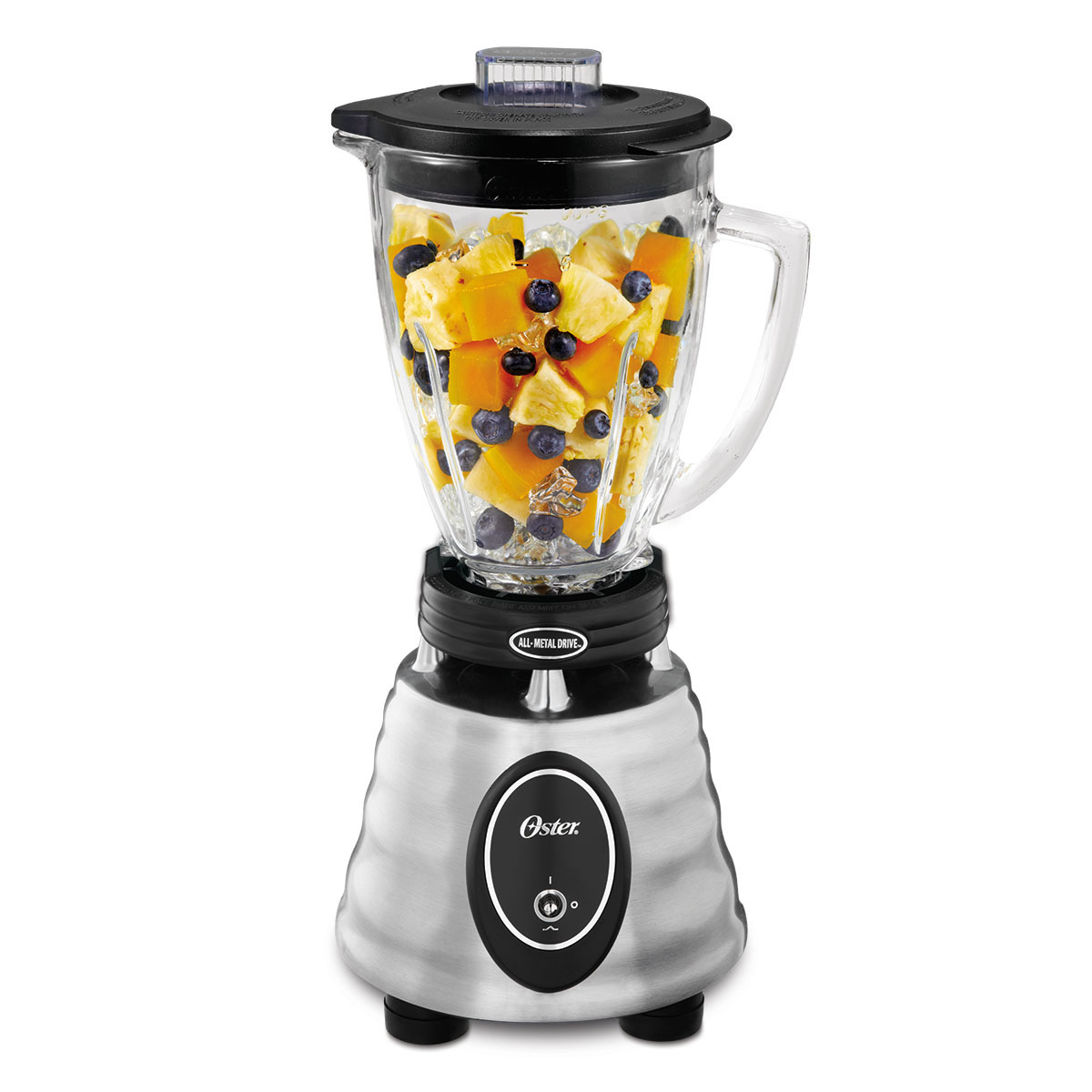 Oster Heritage Blend 400 2-Speed Blender, Stainless Steel (BPCT02-BA0-NP0)