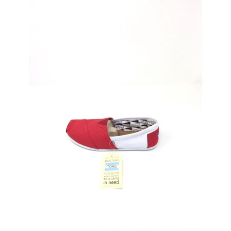 MENS TOMS CLASSICS UNIVERSITY OF WISCONSIN SIZE 13](Size Chart For Toms)