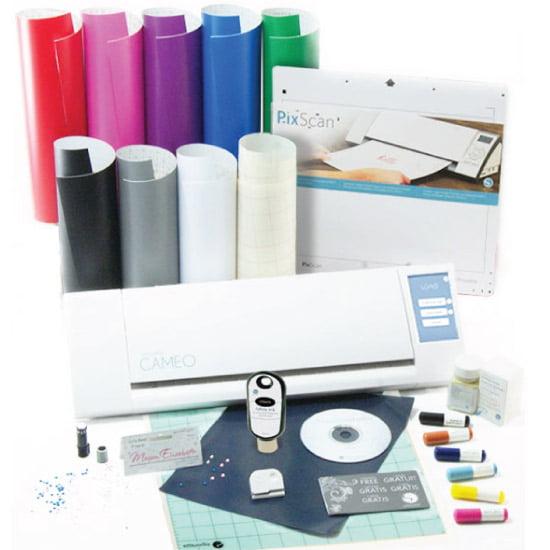 Silhouette Cameo Starter Variety Kit Bundle Vinyl Pixscan