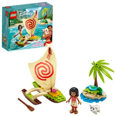 LEGO Disney Moana?s Ocean Adventure 43170 Toy Building Kit (46 Pieces)
