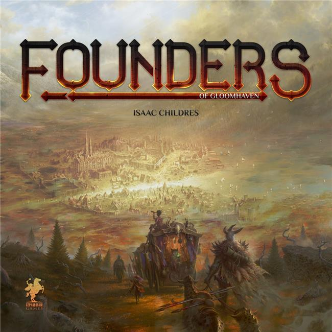 Cephalofair Games CPH0301 Founders of Gloomhaven Board Games - image 1 of 1