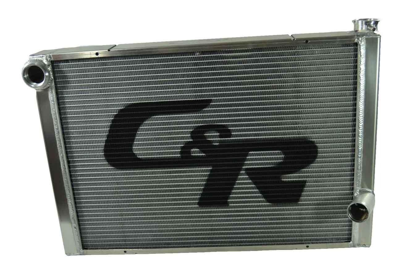 C AND R 31 in W x 18-9 16 in H x 3 in D Crossflow Radiator P N 800-31190 by C AND R Racing RADIATORS