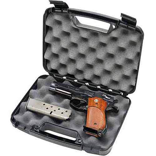 MTM Single Handgun Case, Black