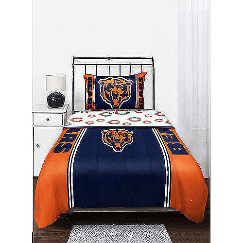 NFL Mascot Bedding Comforter Set with Sheets, Bears