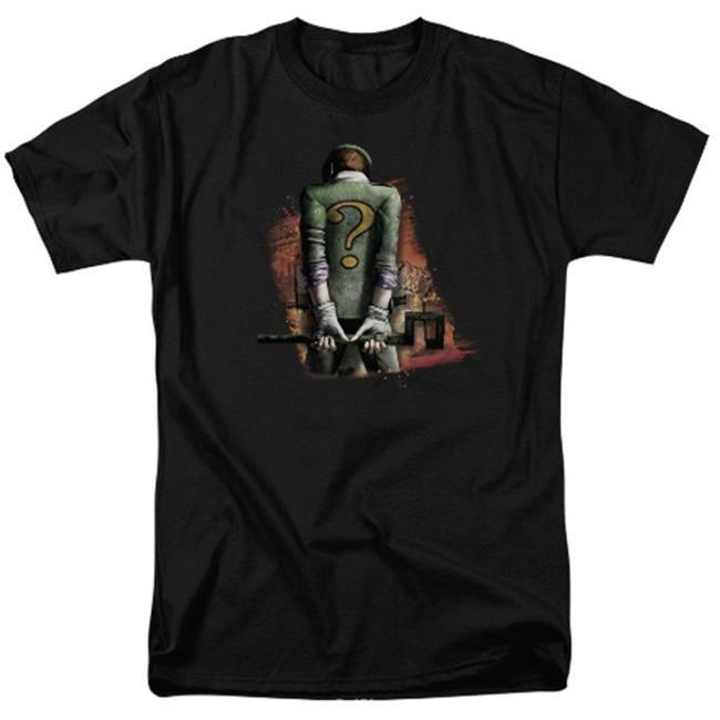 Arkham City-Riddler Convicted - Short Sleeve Adult 18-1 Tee - Black, 4X - image 1 of 1