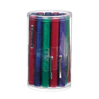 Prestige Medical Disposable Pearlescent Gem Penlight with Assorted Cylinder