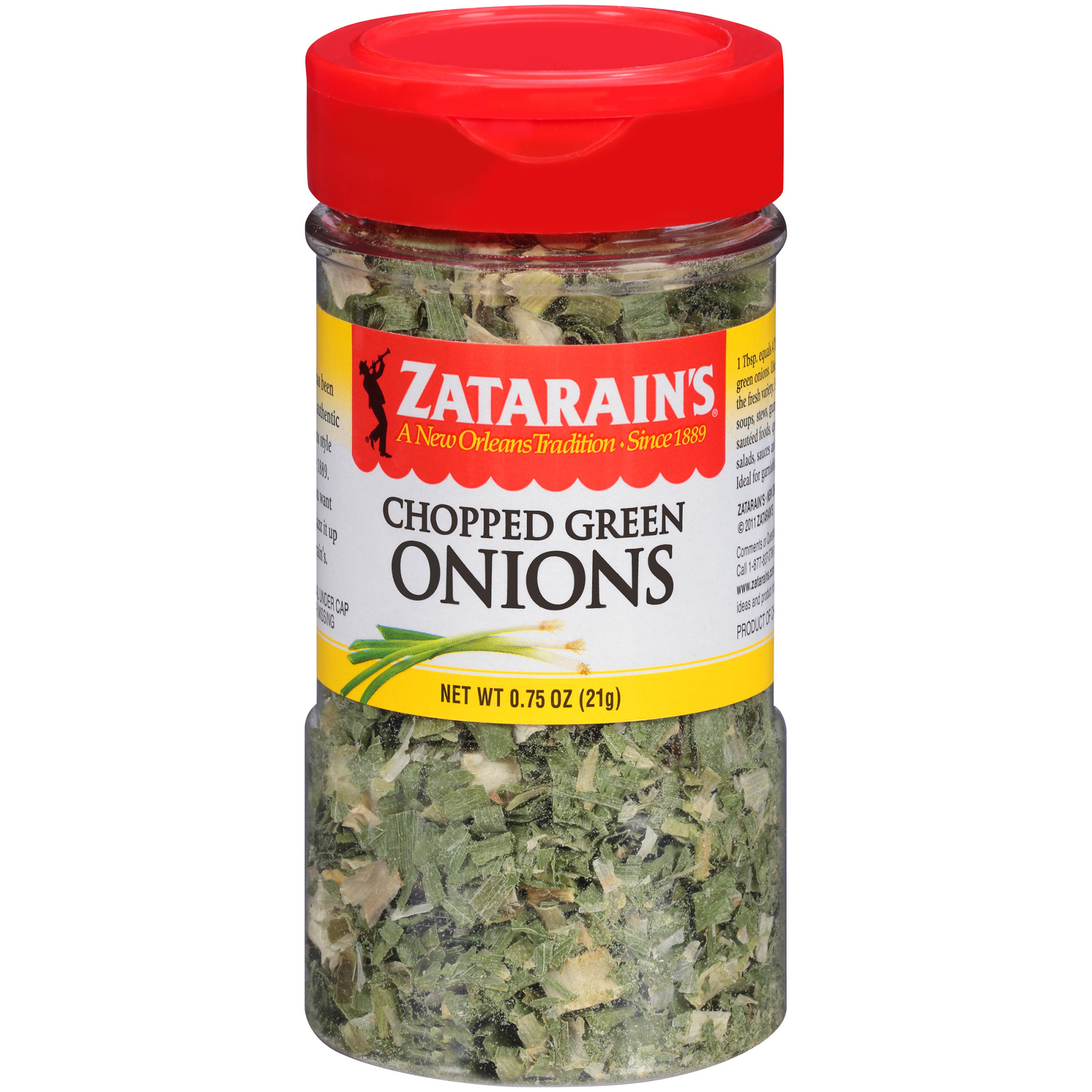 (3 Pack) Zatarain's Chopped Green Onions, 0.75 oz