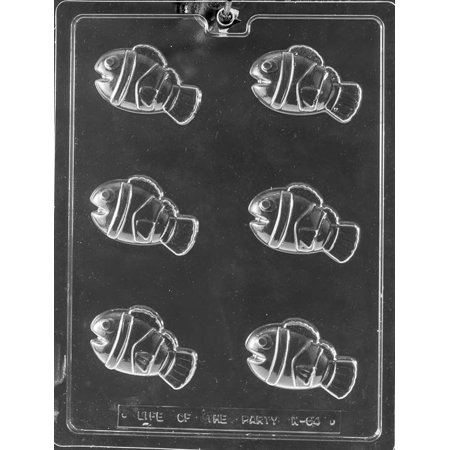 Clown Fish Finding Nemo Chocolate Mold Candy Soap Mould Birthday Party Favor m188