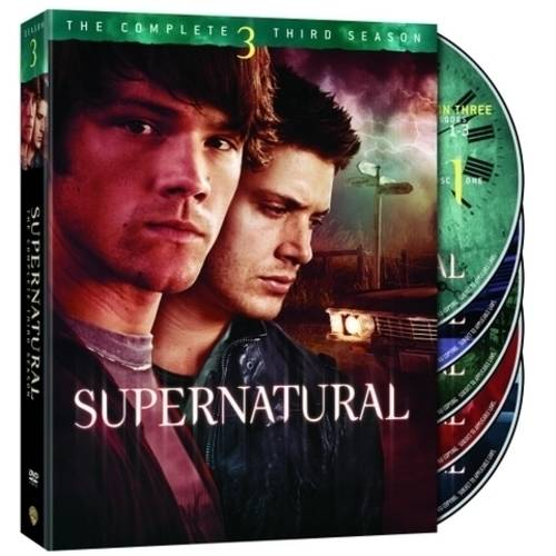 SUPERNATURAL-COMPLETE 3RD SEASON (DVD/WS-1.85/5 DISC)