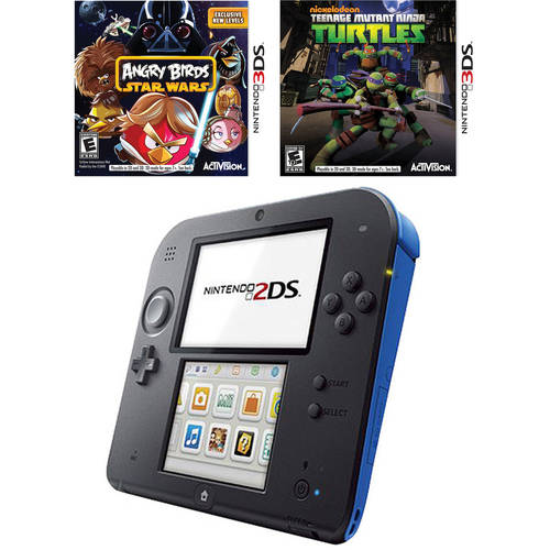 Nintendo 2DS Handheld Bundle with Bonus 2 Games
