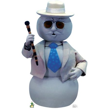 Narrating Snowman From Elf Lifesize Standup Standee Cardboard Cutout Poster (Snowman From Elf)