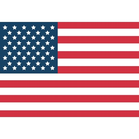 American Flag Car Magnet - 4 X 6 - Weather and UV Resistant from
