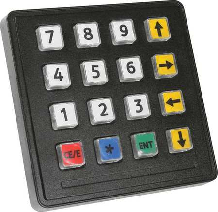 STORM INTERFACE 720 GFX 16 KEY Industrial Keypad,16 Key,IP65