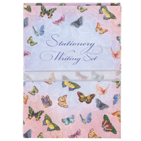 Carol Wilson Stationery Writing Set Butterflies