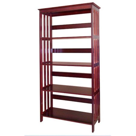 R5417 CH 60   4-Tier Bookcase - Cherry - image 1 of 1