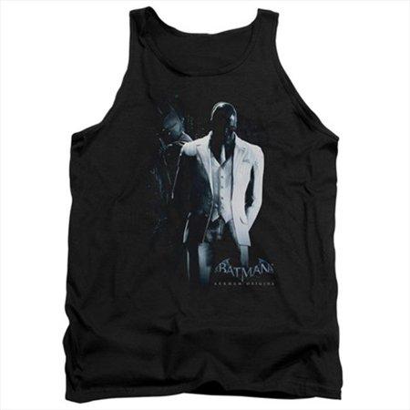 Batman Arkham Origins-Black Mask - Adult Tank Top, Black - Extra Large - image 1 de 1