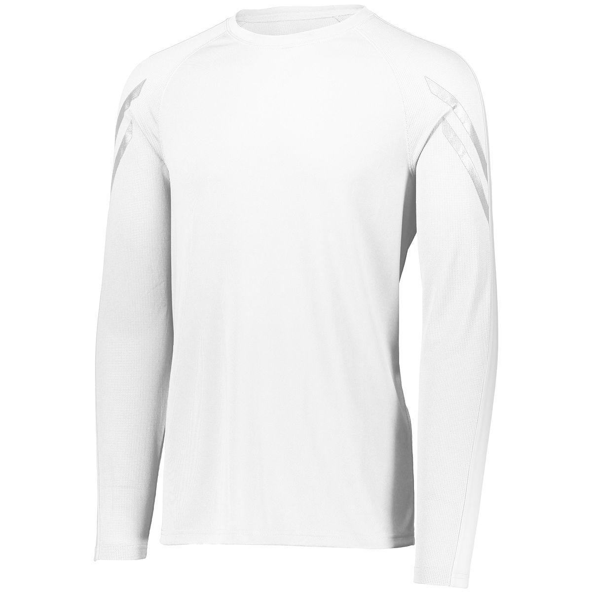 Holloway Youth Flux Shirt L/S White M - image 1 de 1