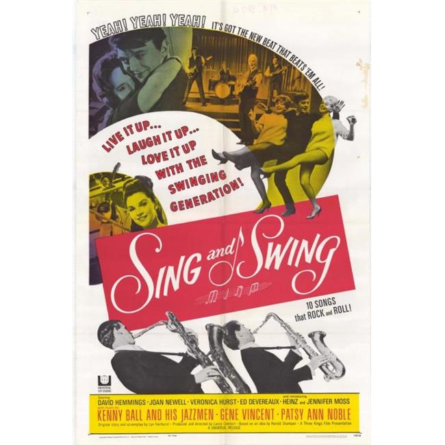 Posterazzi MOVAH9229 Sing & Swing Movie Poster - 27 x 40 in. - image 1 of 1