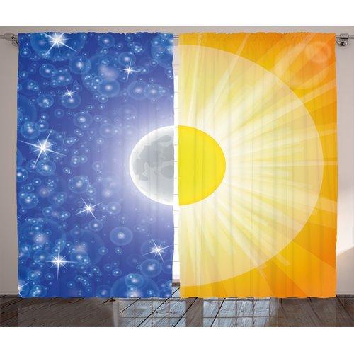 Red Barrel Studio Willshire Split Design with Stars in th...