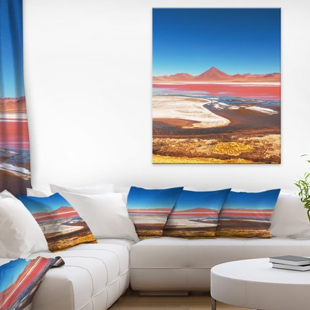 High Mountains in Bolivia - Landscape Wall Art on Canvas - image 3 of 3