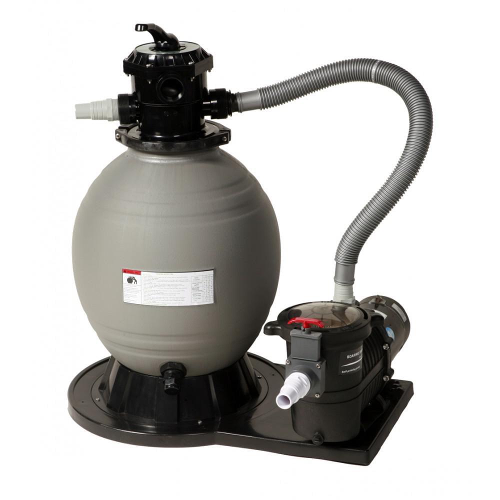 BlueWave NB911 Premium 20/21' Round Small Sand Equipment Package