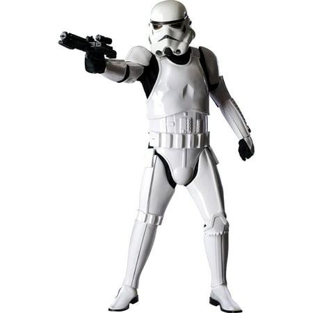 Morris Costume Mens Long Sleeve Stormtrooper Supreme Costume One Size, Style RU909866 - Stromtrooper Costume