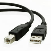 10ft USB Cable for Brother MFC-8910DW Laser Multifunction Printer/Copier/Scanner/Fax Machine