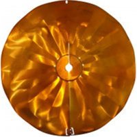 Pole Mount Disk Squirrel Baffle - Copper Tint