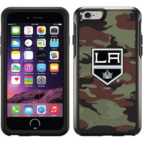 Los Angeles Kings Traditional Camo Design on OtterBox Symmetry Series Case for Apple iPhone 6