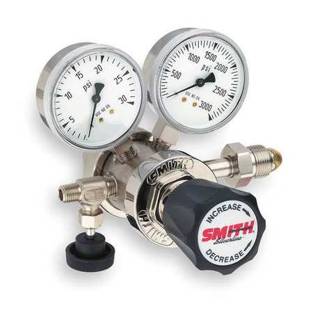 MILLER SMITH EQUIPMENT 220-4106 High Purity Gas Reg, Hydr...