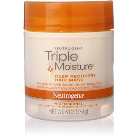 Hair Recovery - Neutrogena Triple Moisture Deep Recovery Hair Mask 6 oz (Pack of 3)