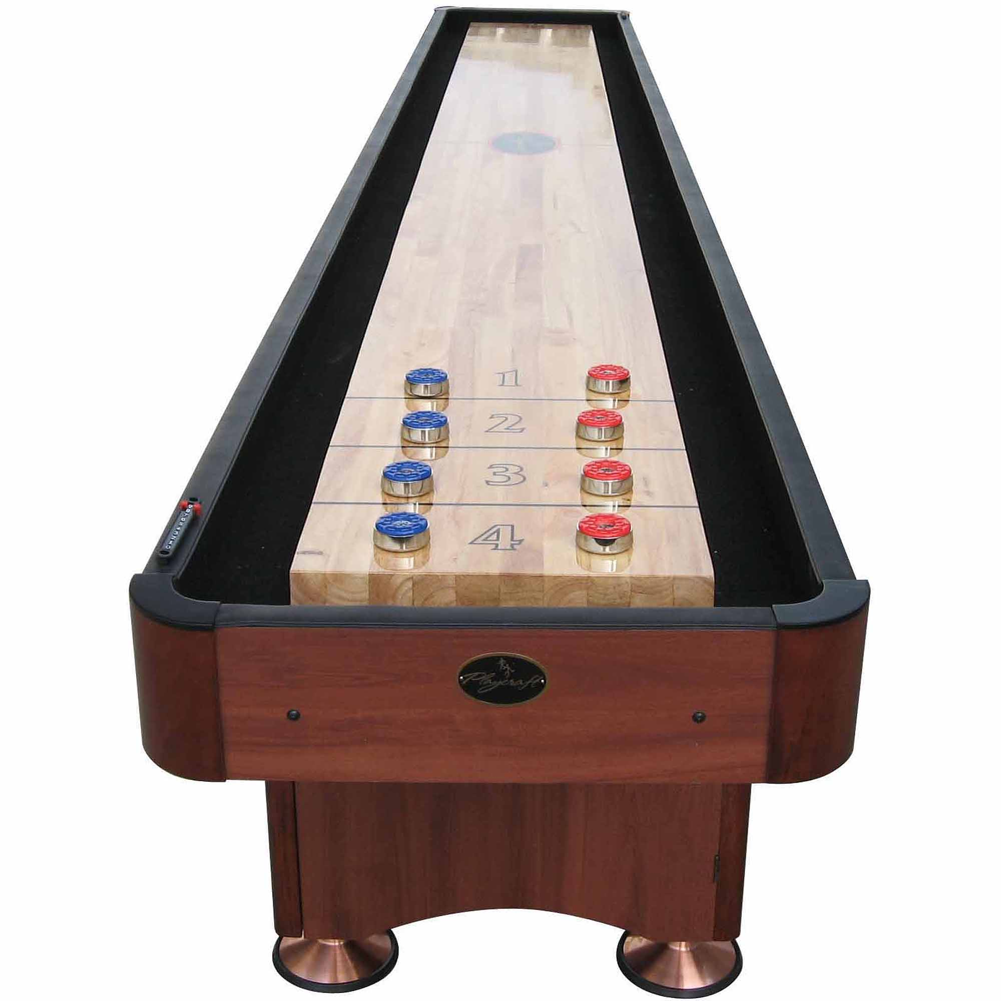 Playcraft Woodbridge Cherry 14' Shuffleboard Table