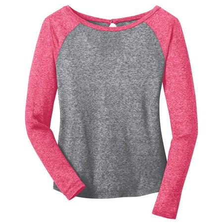 District Women's Long Sleeve Raglan T-Shirt