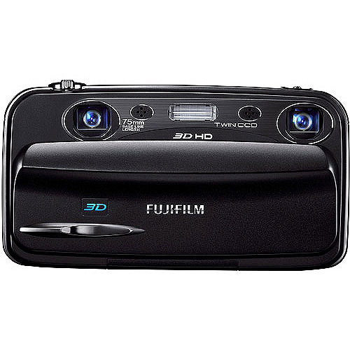 Fuji Real 3D W3 Digital Camera with 3.5-Inch LCD (Discontinued by Manufacturer)