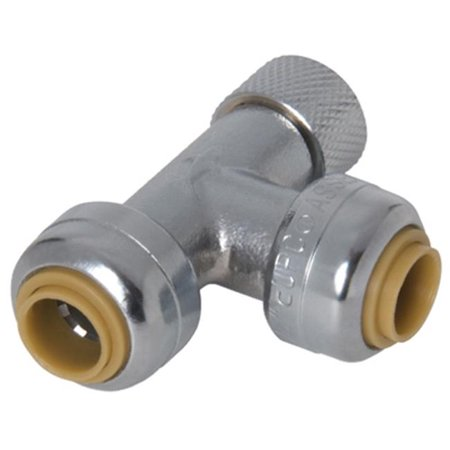 0.75 x 0.75 x 0.37 in. Stop Valve Pipe Tee Adapter - image 1 de 1