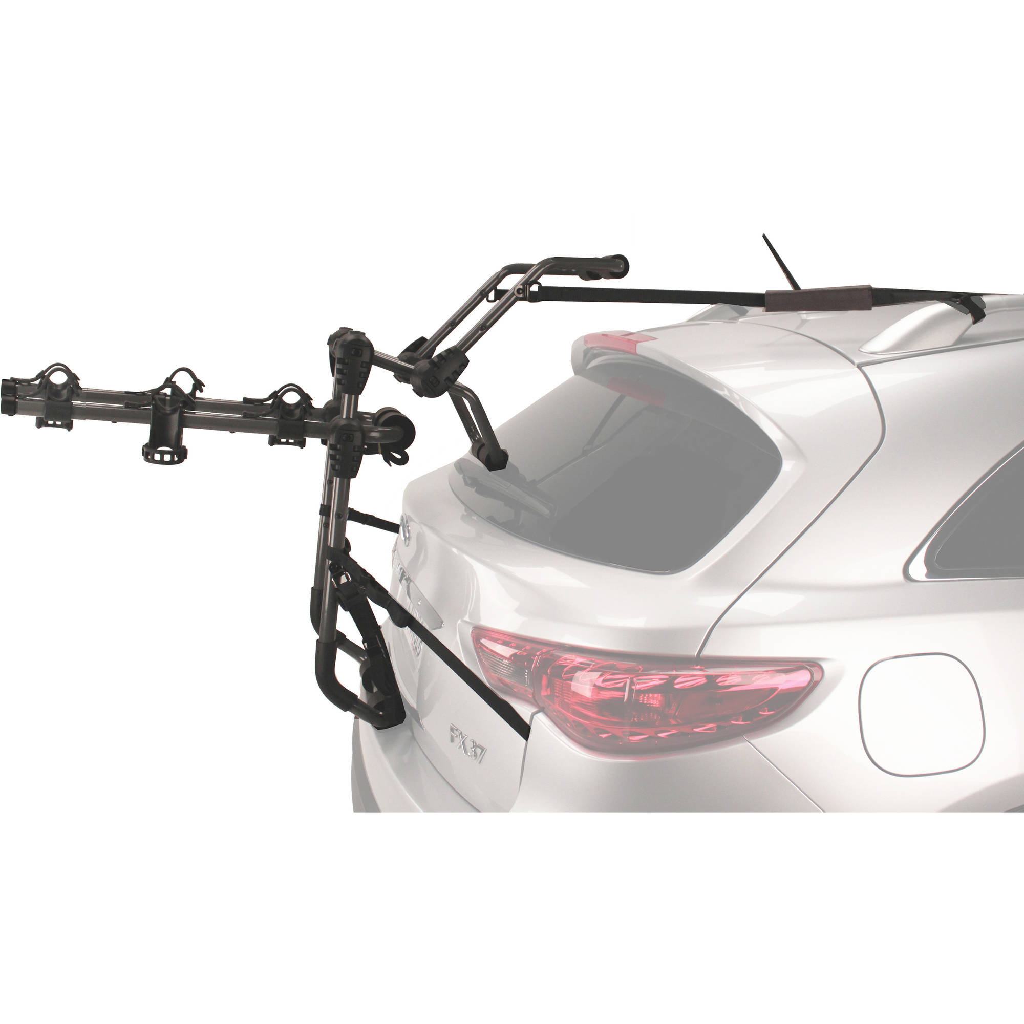 for swing rack truck suv mount deluxe hitch car product bike away bicycle carrier new s