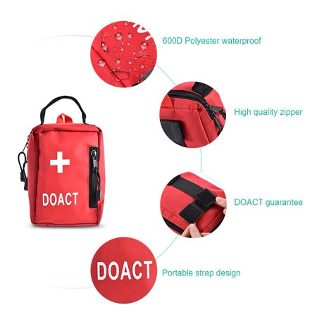 First Aid Kits 203 PCS Medical Supplies and Equipment for Outdoor Indoor Emergency Survival for Camping Hiking Boating Traveling (Home Aid Medical Equipment & Supplies Inc)
