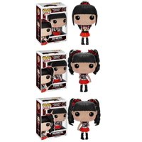 Babymetal Su-Metal - Yuimetal - Moametal Vinyl Action Figure Toy Doll Collectible Funko POP Rocks J-POP Music Japanese Kawaii Idol Band (Deluxe Collector Set of 3)