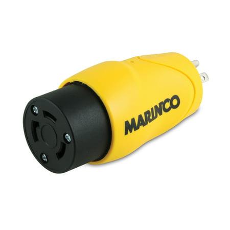 Marinco / Park Power S30-15 Adapter 30A Male Locking To - Marinco Marine Adapter