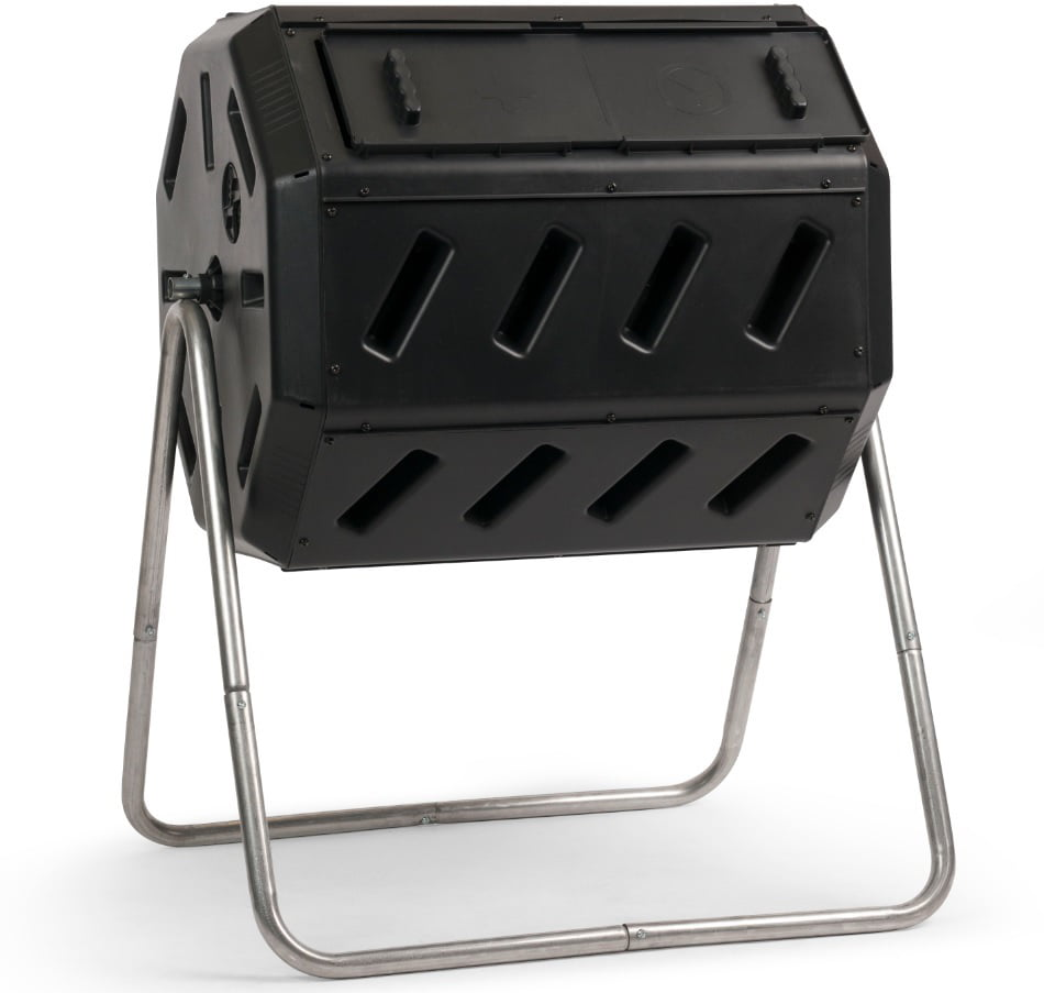 YIMBY IM4000 Dual-Chamber Tumbling Composter by Forest City Models and Patterns Ltd