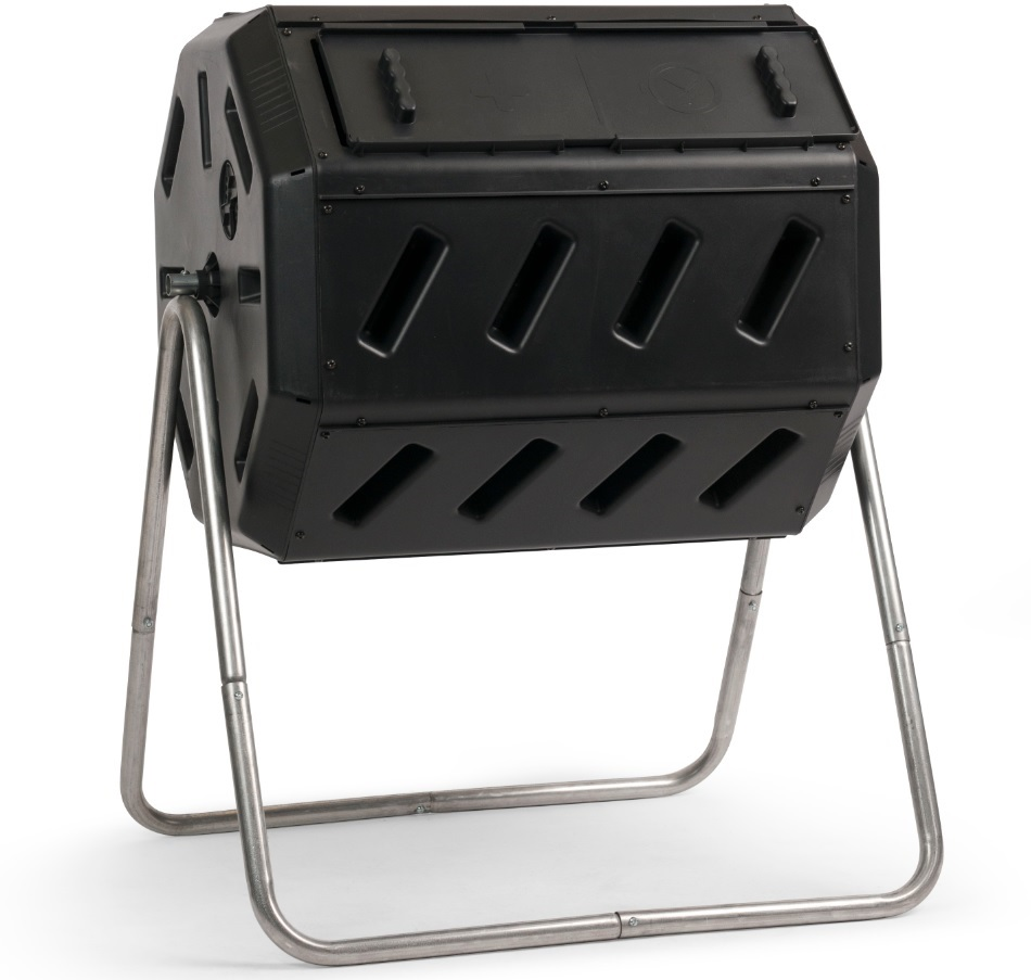 YIMBY IM4000 Dual-Chamber Tumbling Composter
