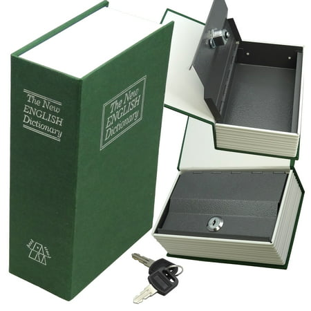 Secret Safe - Hidden Secret Book Safe Medium Green