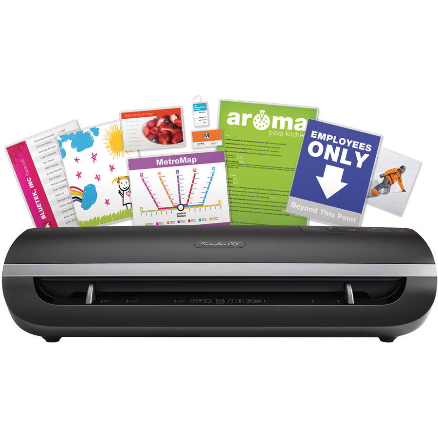 "Swingline GBC Fusion 5000L 12"" Laminator, 10 mil Maximum Document Thickness"