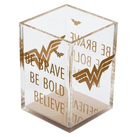Wonder Woman Pencil Holder Office Desk Accessories Gift
