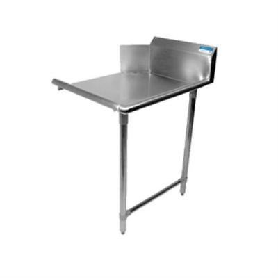 BK Resources BKCDT-48-R-SS Clean Dishtable