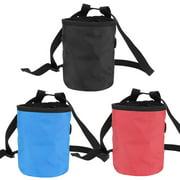 ANGGREK Climbing Magnesium Powder Bag,Magnesium Bag,Magnesium Powder Bag for Outdoor Rock Climbing Gymnastics Pole Dance