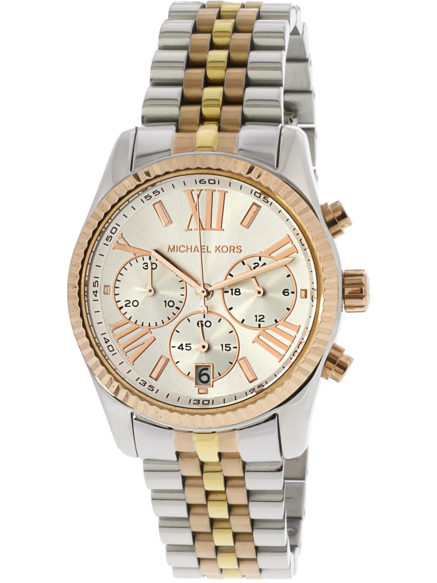 Women's Lexington MK5735 White Stainless-Steel Quartz Fashion Watch
