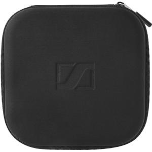 Sennheiser Carrying Case for Headset, Accessories, Cable, Flash Drive - Black - Embossed Sennheiser Logo